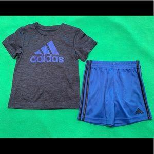 NWOT🔥 Baby Boy Adidas Shorts Set